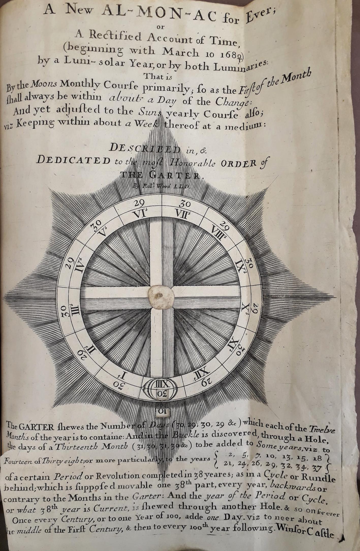 """""""Oxford, Bodleian Libraries, Ashm F 4 (31), title page."""""""