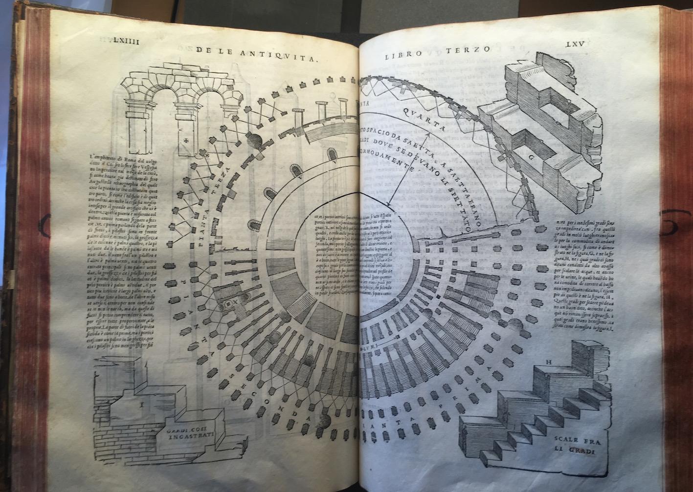 """""""S. Serlio, Il terzo libro ... nel qual si figurano ... le antiquità di Roma. Con noue additioni (1544)."""""""