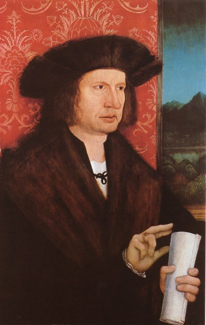 """Georg Tannstetter Portrait ca. 1515, by Bernhard Strigel (1460-1528) Source: Wikimedia Commons."""