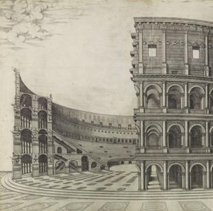 Notes on the Colosseum from the Speculum Romanae Magnificentiae