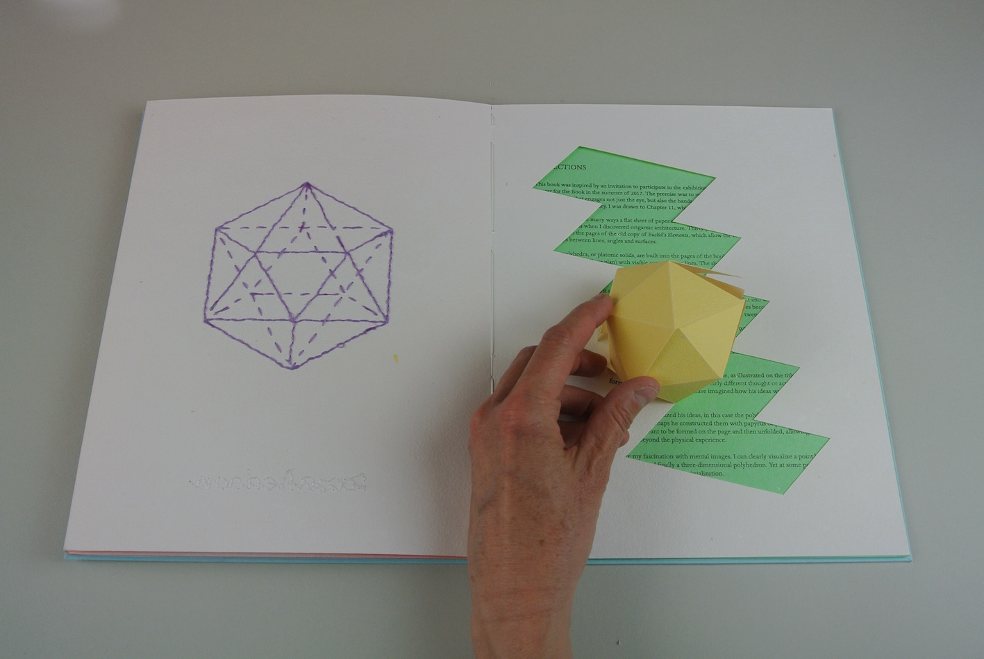 """""""Tangential (2017), solid icosahedron."""""""