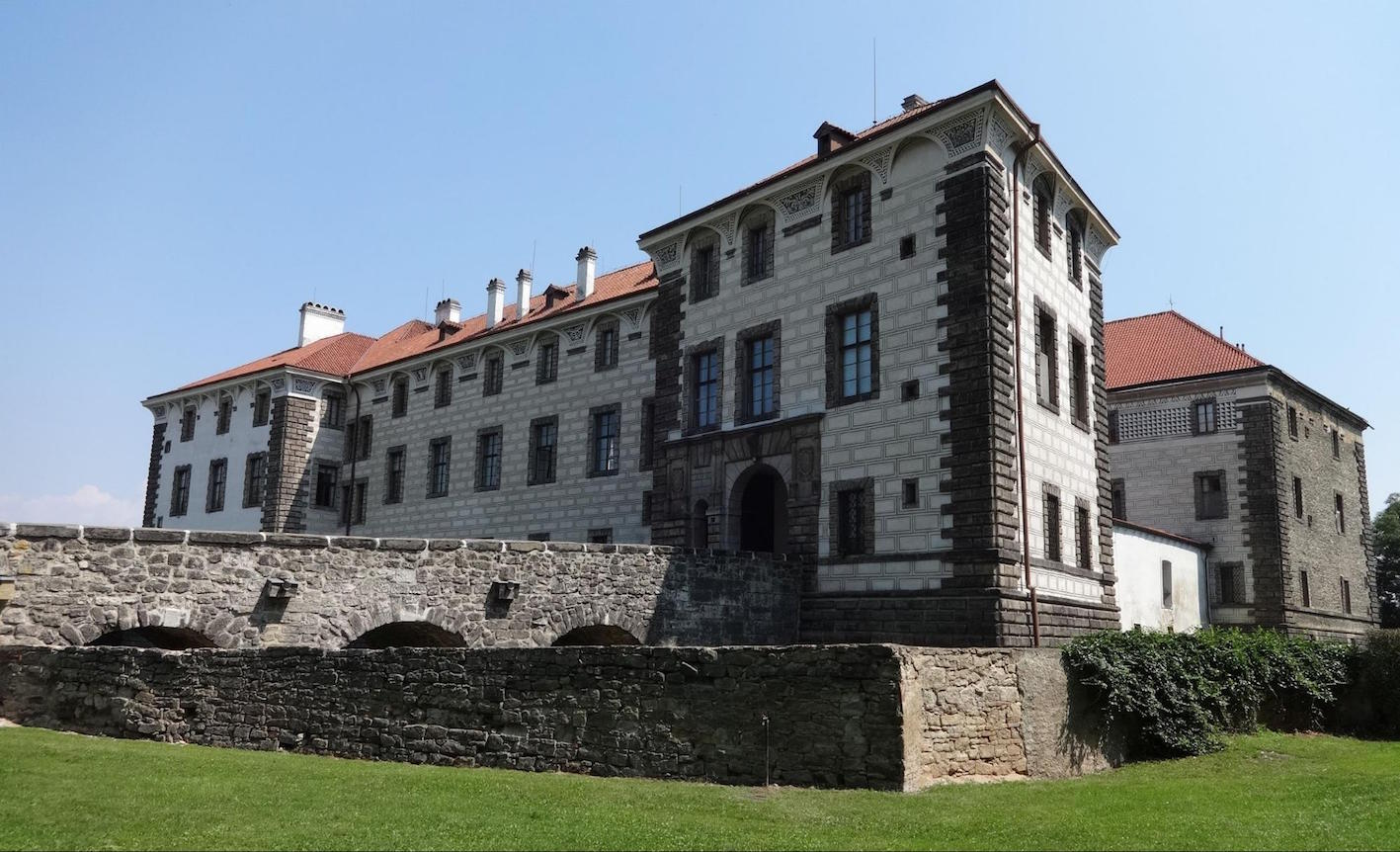 """Nelahozeves Castle is one of the finest examples of Renaissance architecture in the Czech Republic."""