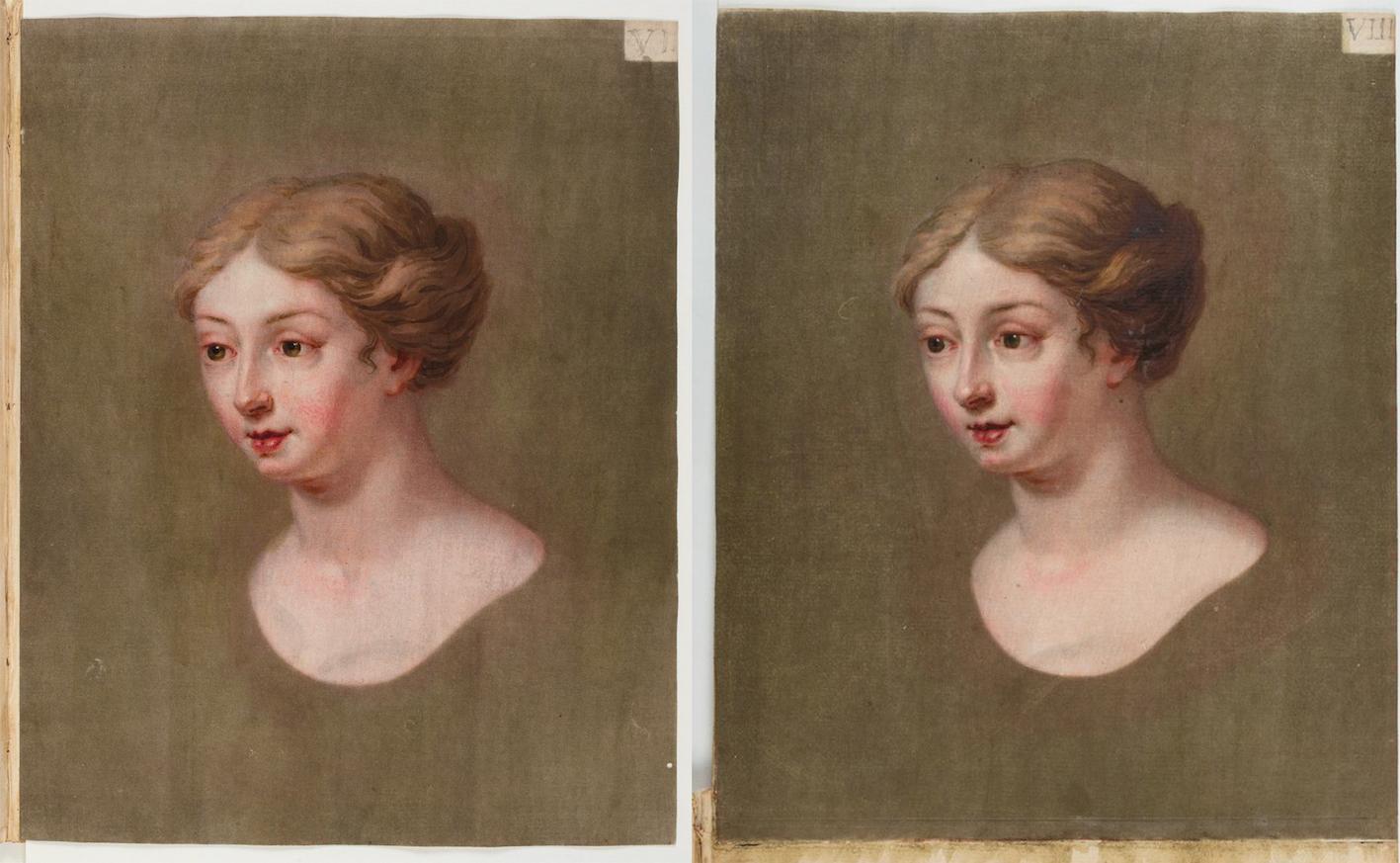 """""""Coloritto, plate VI and VII from the Appendix  Bibliothèque nationale de France, département Estampes et photographie, RESERVE 4-YC-1332."""""""