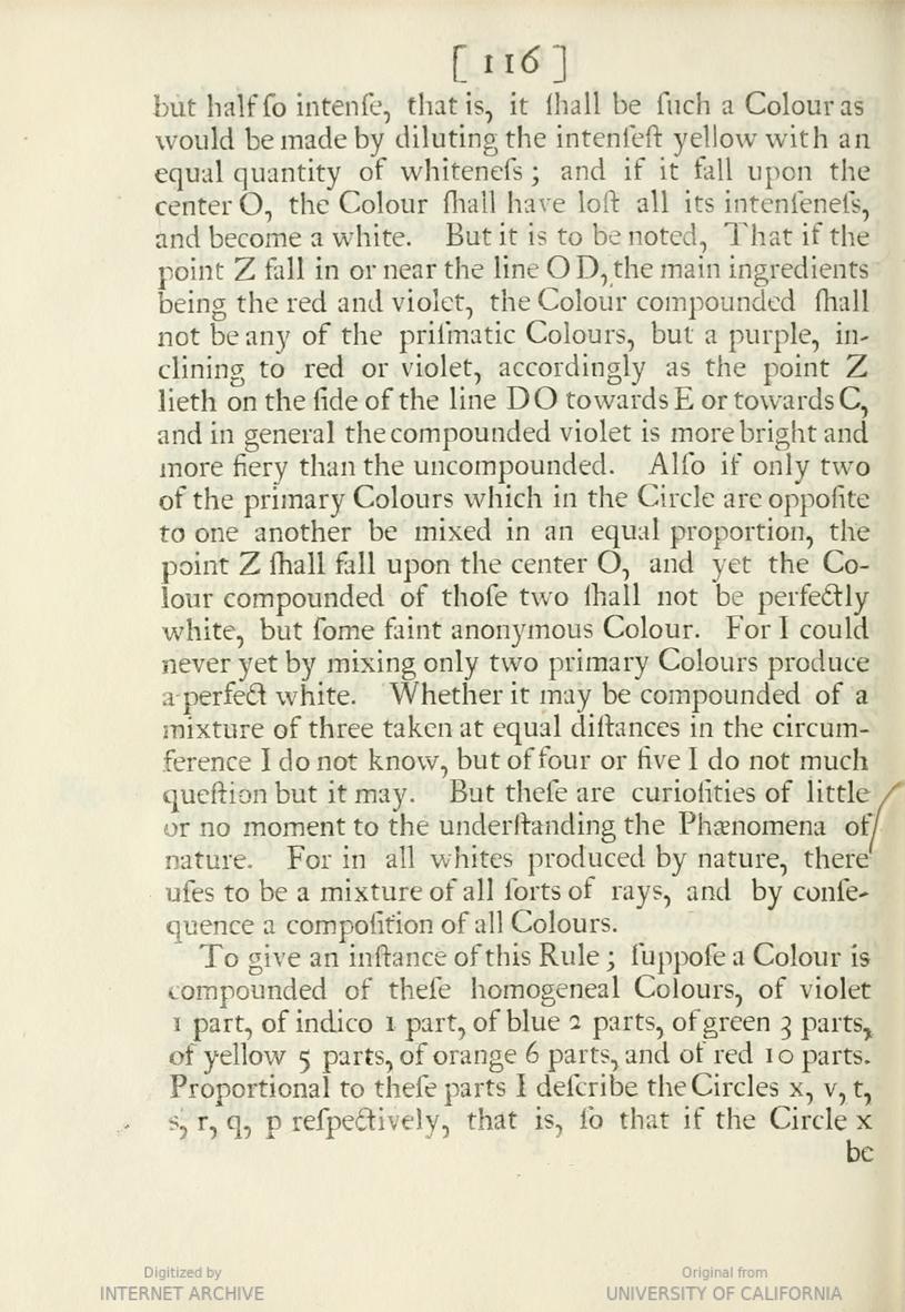 """*Opticks*, 'The First Book of Opticks', p. 116. """