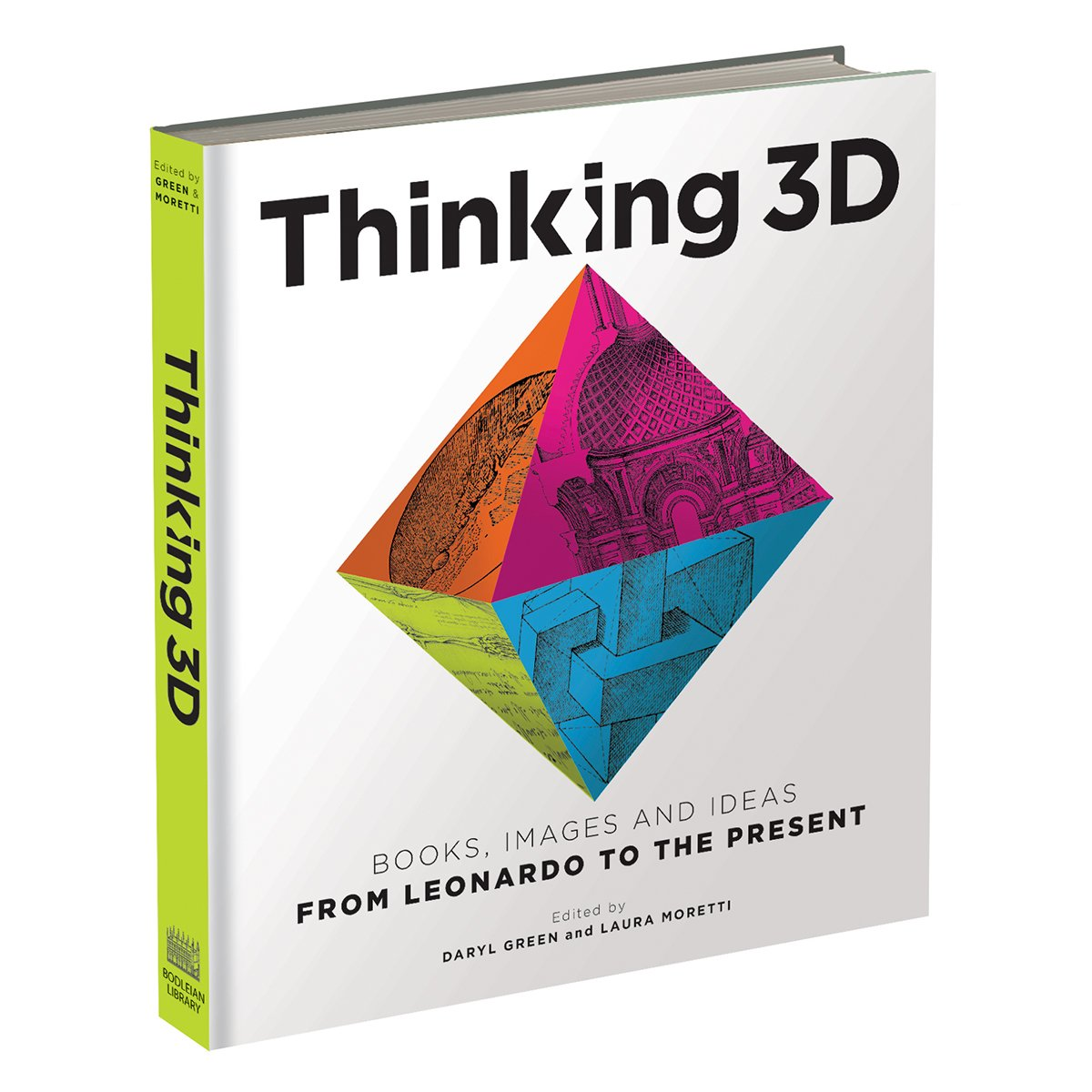 """Thinking 3D: Books, Images and Ideas from Leonardo to the Present, cover."""
