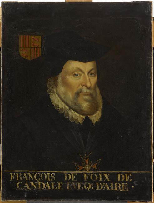 """""""Anonymous, François de Foix-Candale (1513-94). Photo (C) RMN-Grand Palais (Château de Versailles/Franck Raux)."""""""