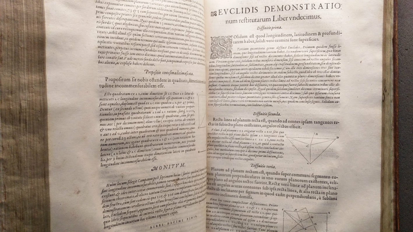 """The first edition of Foix-Candale's Elements."""