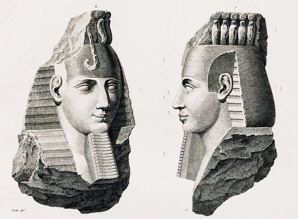 """Head of Osymandias"""