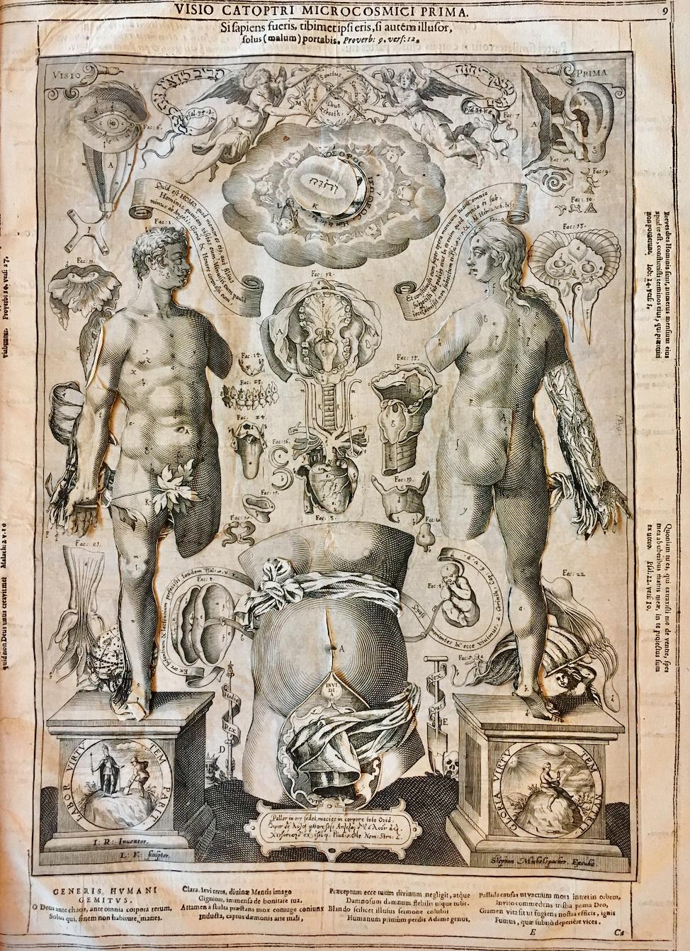 *Visio Prima* of a 1619 edition of the *Catoptrum Microcosmicum*