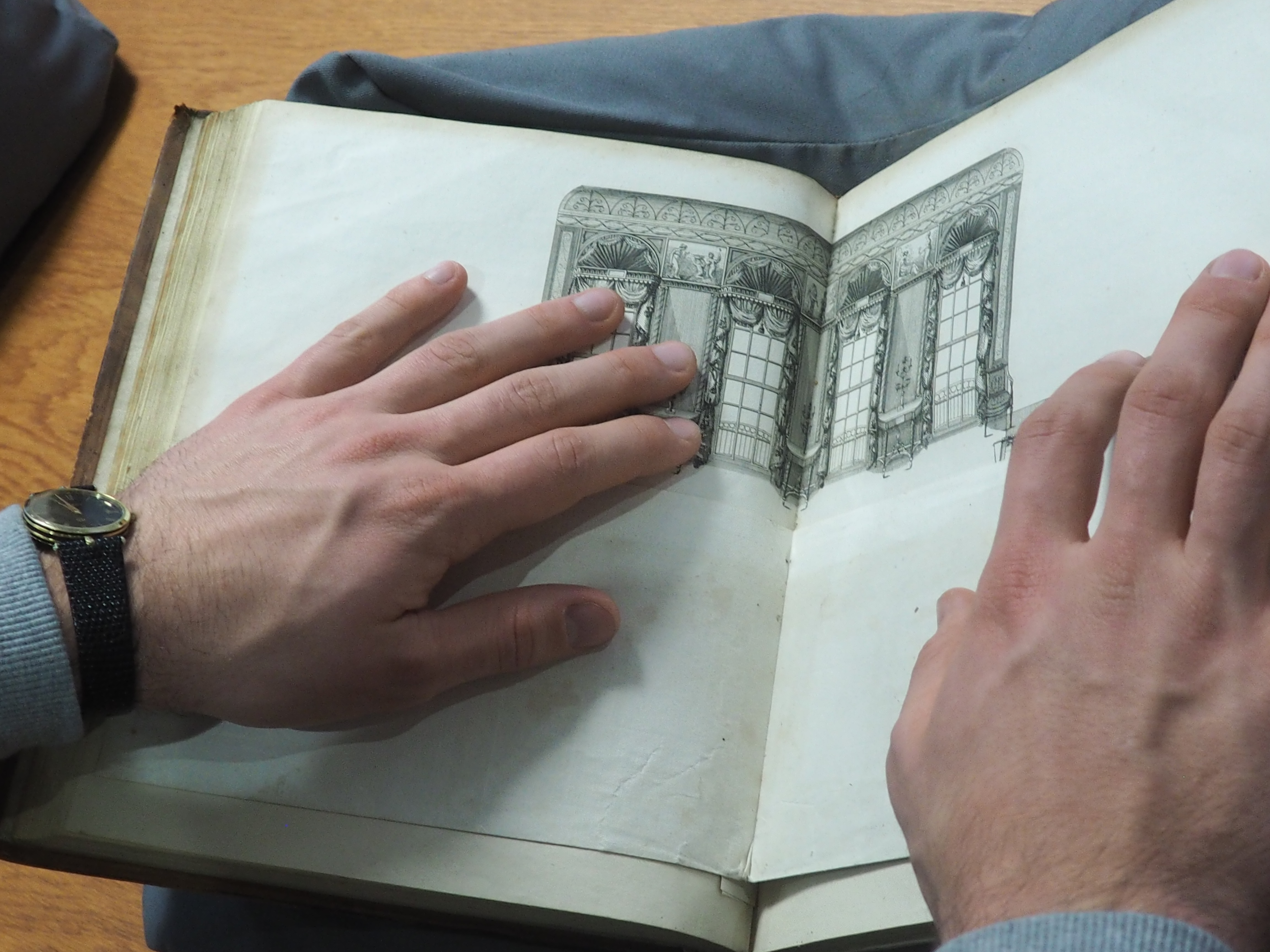 """""""Thomas Sheraton, """"A Drawing Room"""" in The Cabinet-Maker and Upholsterer's Drawing Book"""""""