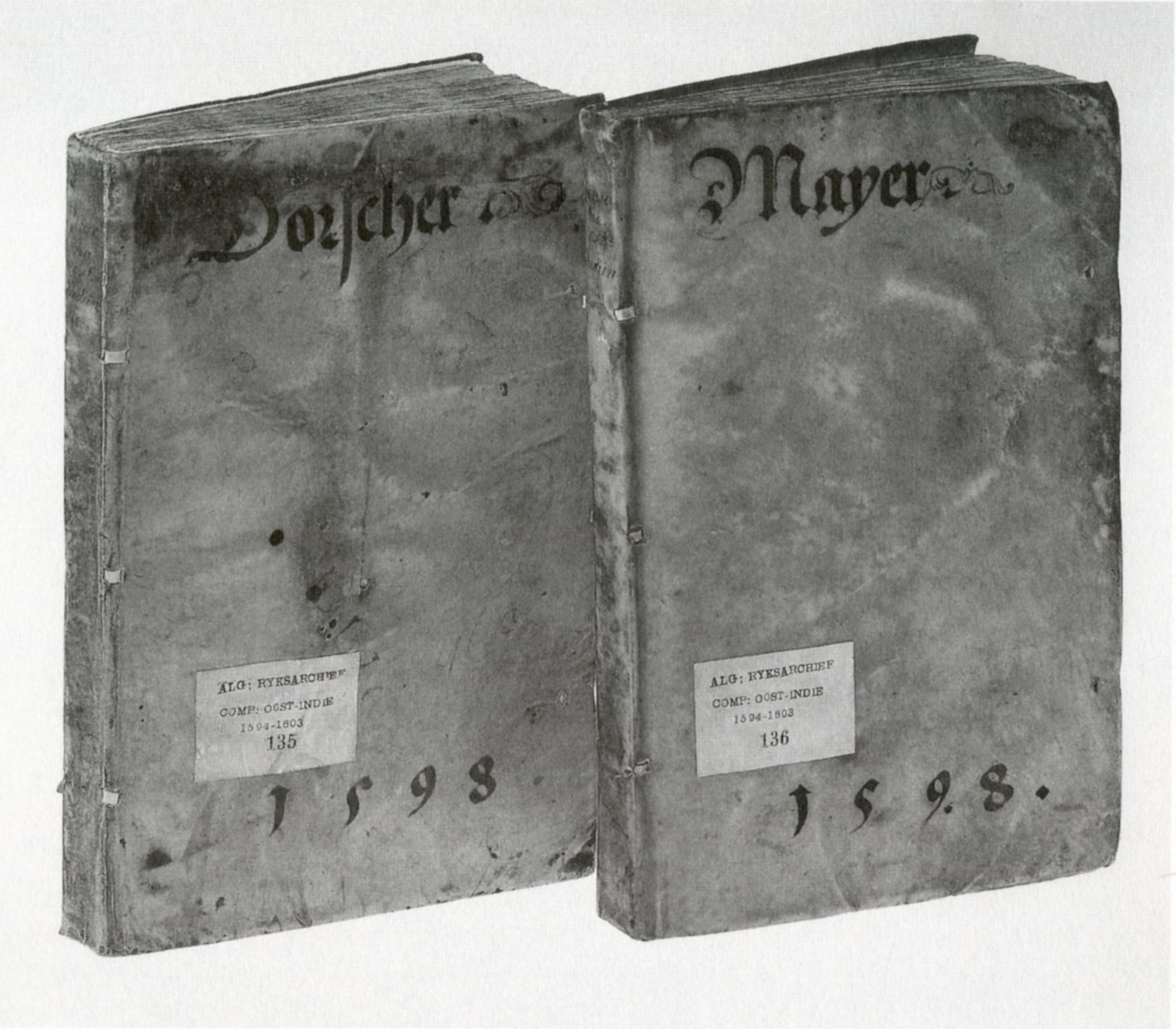 """Figure 1. The two volumes of the journal."""